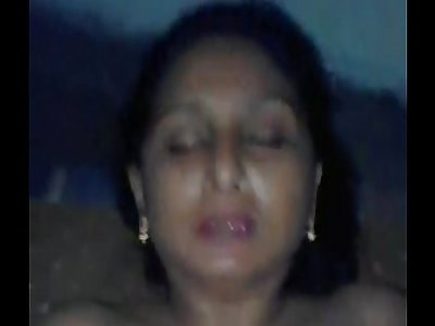 Indian Desi aunty sucking and fucking young guy - Wowmoyback