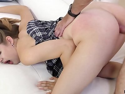 Naughty Chick Devon Green Rubbing That Hot Twat Really Nice