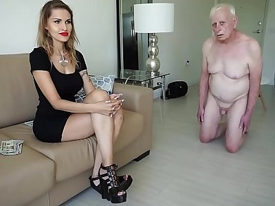Unscrupulous mistress spells an old man for money